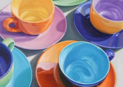 Cups N Saucers by Daryl Gortner