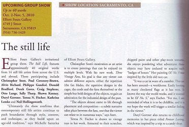 American Art Collector October 2010 Article 1