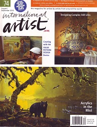 International Artist August 2010 Cover