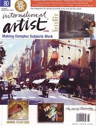 International Artist August 2011 Cover