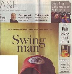 Orange County Register July 27, 2008