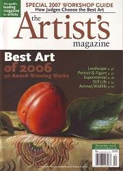 The Artist's Magazine December 2006 Cover