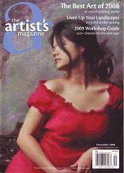 The Artist's Magazine December 2008 Cover