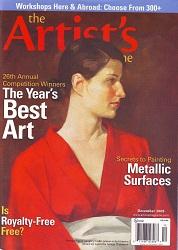 The Artist's Magazine December 2009 Cover