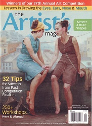The Artist's Magazine December 2010 Cover