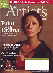The Artist's Magazine January 2006 Cover